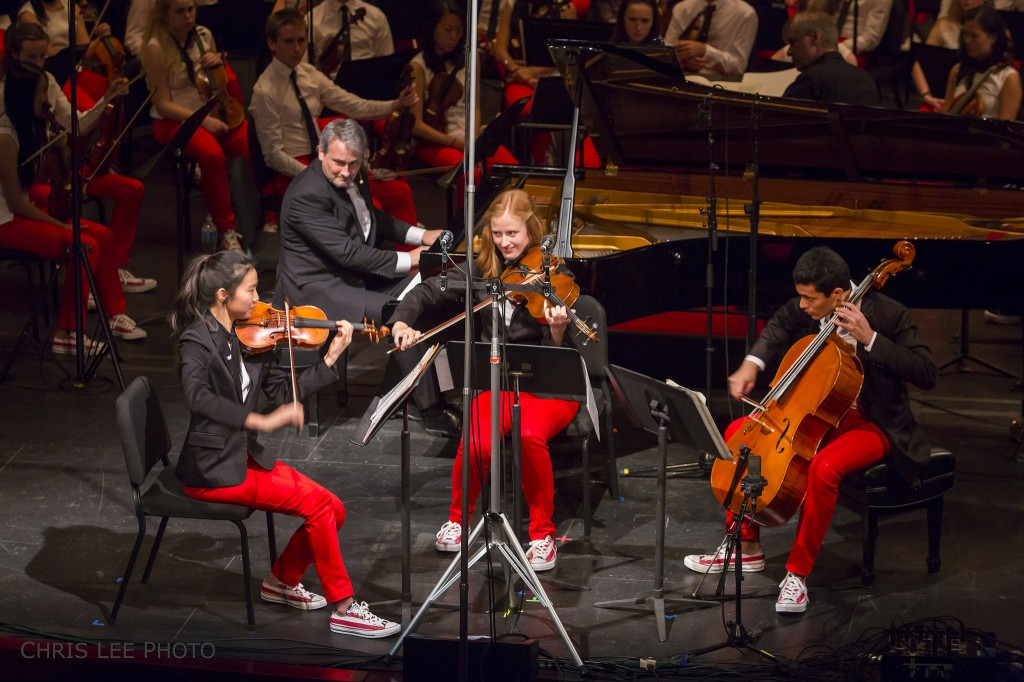 Chris and Trio: National Youth Orchestra