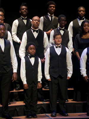 Children Of The Gospel Choir From The Top