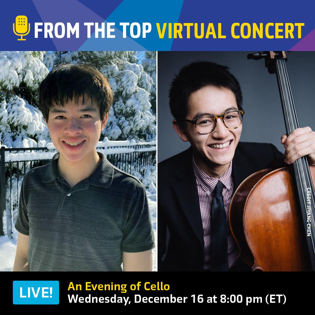 Dec 16 virtual concert ad