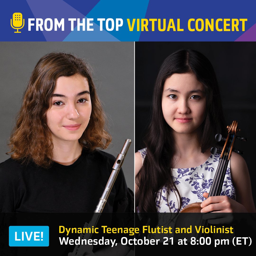 Promotional image for October 21 virtual concert