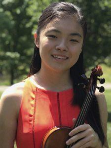 16-year-old violinist Kayleigh Kim