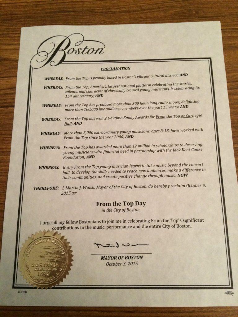 10-4-15 Proclamation