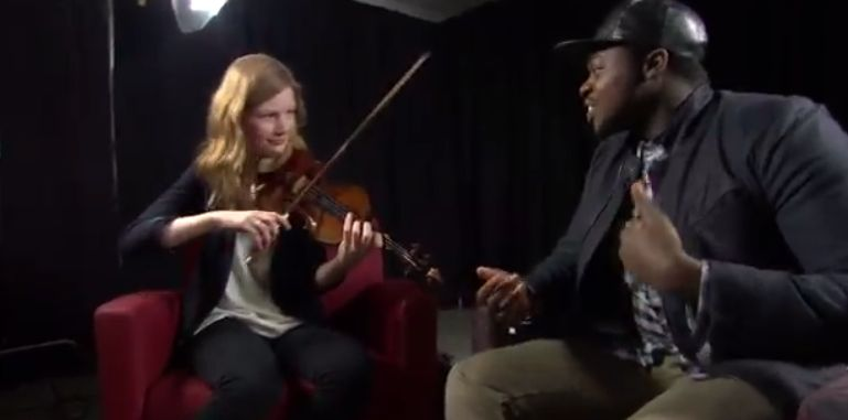 Celebrity Jam with From the Top alumni: Penatonix's Kevin Olusola and Kate Arndt