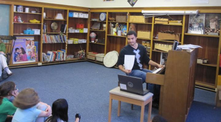 Trey Pernell teaching